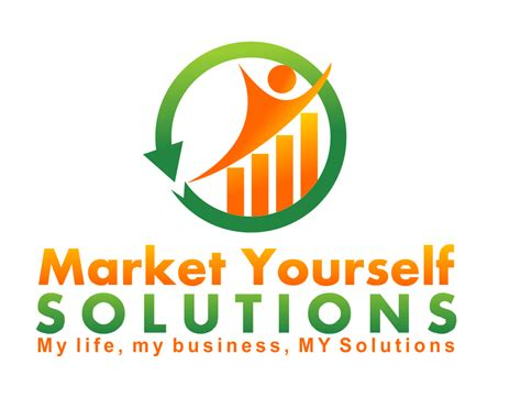 design a logo for yourself fun logo design for market yourself solutions hiretheworld