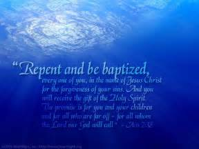 repent baptized acts 2 38 bible verse