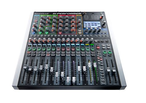 Mixer Digital Soundcraft soundcraft si expression 1 16 channel digital mixer