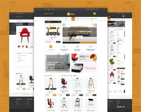 retail store template free retail store website template free