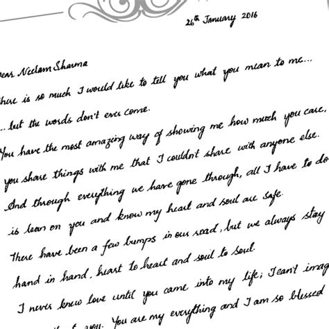 how to write a handwritten letter format cover letter