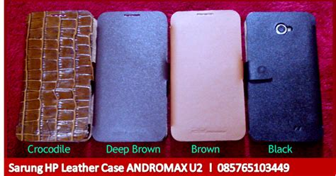 Sarung Hp Evercoss A7t Leather Untuk Hp Smartfren Andromax U2 Dolby