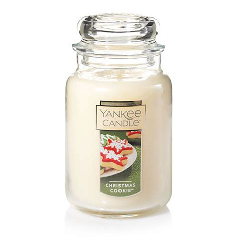 candele yankee cookie large classic jar candles yankee candle