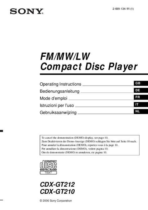 sony fm am compact disc player wiring diagram sony fm am compact disc player cdx gt210 wiring diagram fm
