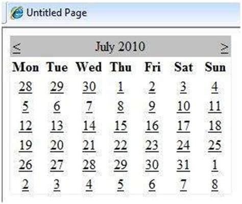 Asp Calendar Asp Net Calendars