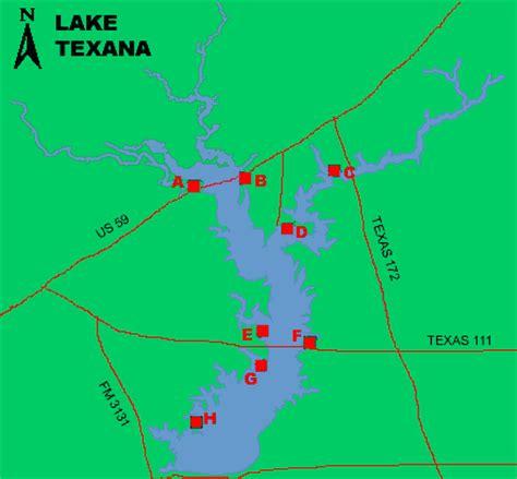 map of edna texas lake texana access