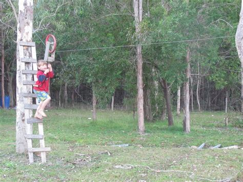 Backyard Zip Line Ideas Zip Line Yep We One Kiddos