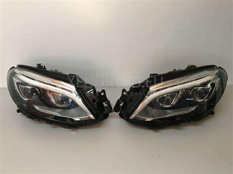 mercedes led headlights mercedes benz gla x156 multibeam led headlights xenonled eu