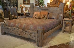 King Size Wrought Iron Bed King Beds American Western Beds Cabin Beds Rustic