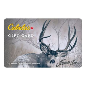 Cabela S Gift Card Canada - cabela s canada gift card deer cabela s canada