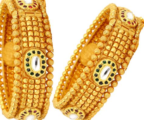 antique broad gold bangles jewellery designs