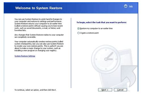 windows xp system restore download