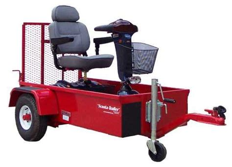 The Chair Trailer by Scoota Trailer The Ultimate Electric Scooter Or Powerchair Trailer N 1stseniorcare