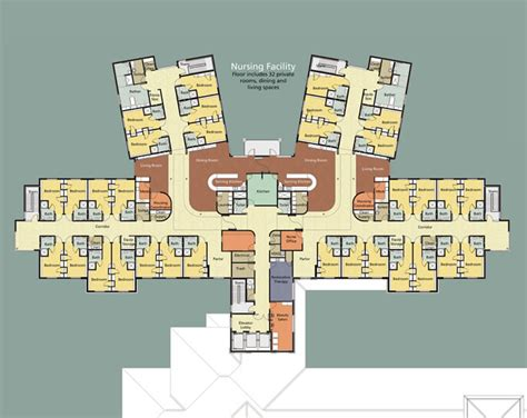 medical center floor plan simpson health center friendship haven