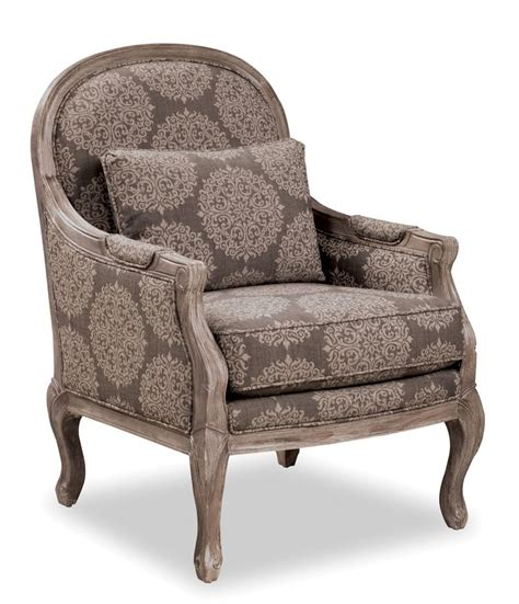 Traditional Accent Chair Accent Chairs Traditional Chair With Cabriole Legs And Exposed Wood Frame By Craftmaster