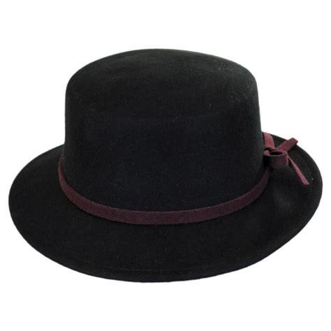 jeanne simmons wool felt stingy brim bolero hat casual hats