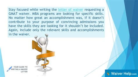 Florida State Mba Gmat Waiver by How To Write A Gmat Waiver Letter
