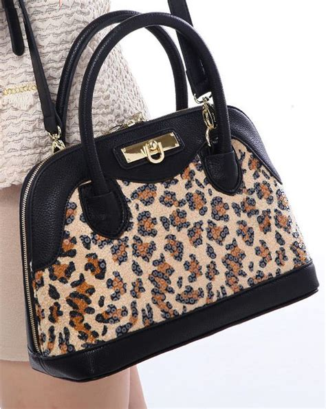 Leopard Big Pocket Edition 1 leopard print handbag leped products
