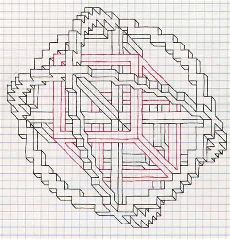 grid pattern drawing geometric patterns grid paper google search geometric