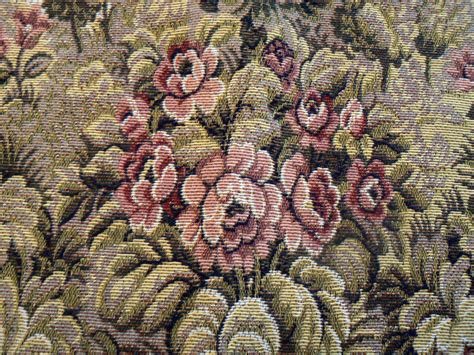 Items Similar To Vintage Tapestry Upholstery Fabric