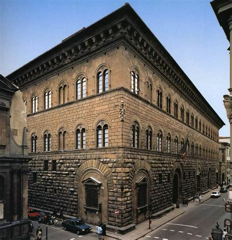 medici house medici palace 1444 1449 florence italy architecture europe the red list