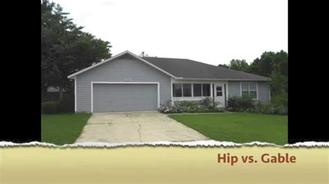 what is the difference between a hip and a gable roof