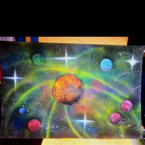 spray paint space spray paint space paintings