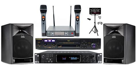 setup  karaoke system  home theater audio
