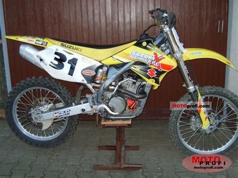 2005 Suzuki 250 Dirt Bike Suzuki Rm Z 250 2005 Specs And Photos