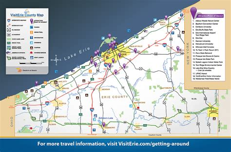 zip code map erie county pa get around visiterie