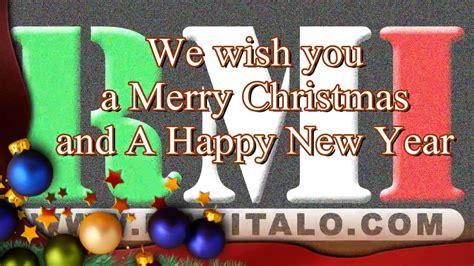 rmi     merry christmas   happy  year youtube