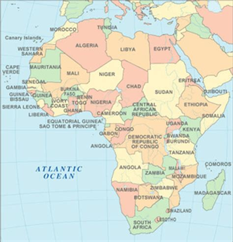 africa map with equator learning geography ef tours travel the