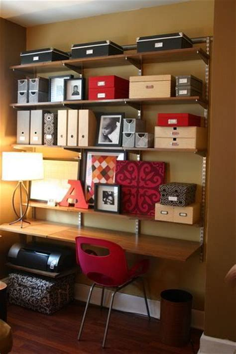 office shelving ideas 51 cool storage idea for a home office shelterness