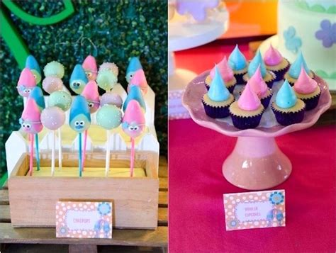 Kara s party ideas 187 colorful trolls birthday party