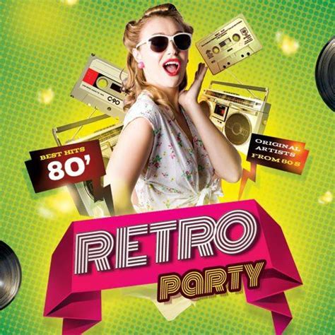 retro 80s party retro party best hits 80s cd2 mp3 buy full tracklist
