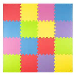 Thick Foam Floor Mats For Babies Foam Play Mats 16 Tiles Borders Puzzle Playmat