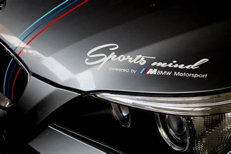 Bmw F10 M Aufkleber by Sports Mind Bmw M Performance Aufkleber M3 M5 E46 E60 61