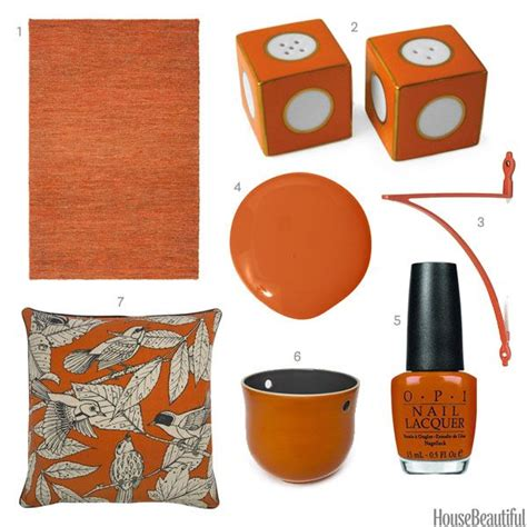 orange home decor accessories 17 best images about which color do you want to live with