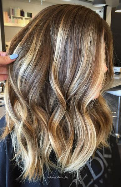 show me shoulder lane hair styles with bangs best 25 shoulder length balayage ideas on pinterest