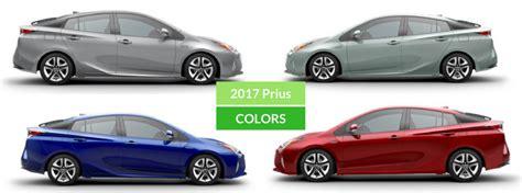 prius colors 2017 toyota prius exterior colors and accessories