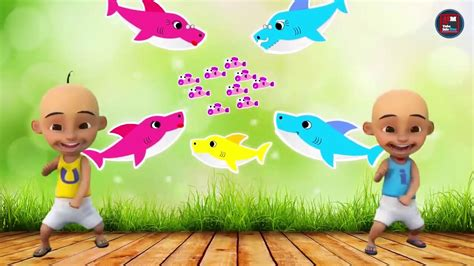 baby shark anak kecil lagu anak baby shark dance animal songs versi upin ipin