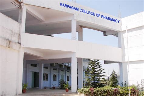 Grd College Coimbatore Mba Fees Structure by Karpagam College Of Pharmacy Coimbatore Admissions 2018