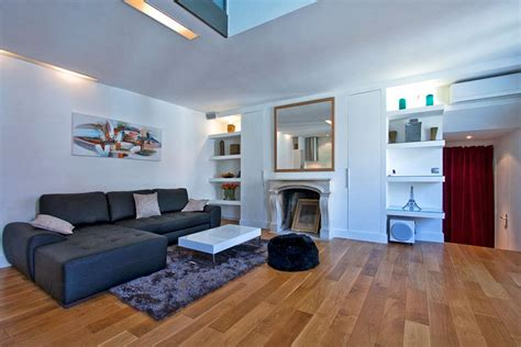 modern duplex apartment design  paris idesignarch