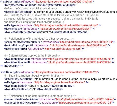 xml metadata tutorial guid o matic information page