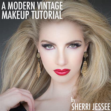 vintage makeup tutorial a modern vintage makeup tutorial bangstyle