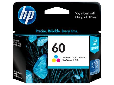 Tinta Hp 45a Black Original hp tri colour ink cartridge 60