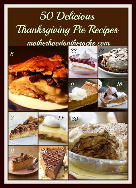 50 delicious thanksgiving pie recipes motherhood on the