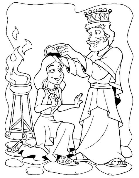 Esther Coloring Pages esther coloring pages az coloring pages