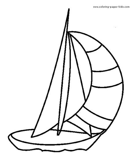 coloring book pages boats sailboat coloring pages preschool coloring pages