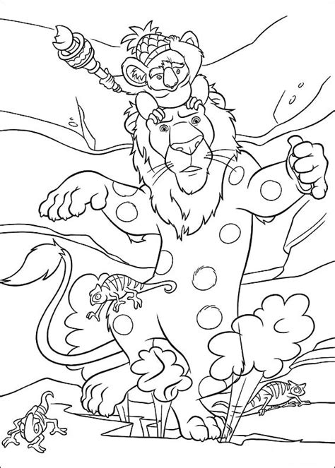 coloring page the wild coloring pages 4